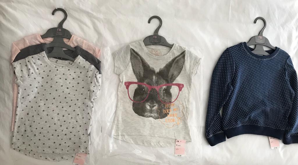 BNWT Mothercare Tshirts and Jumper