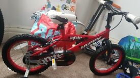 childrens bike with stabilisers
