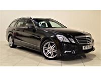 MERCEDES-BENZ E-CLASS 3.0 E350 CDI BLUEEFFICIENCY SPORT 5d AUTO 265 BHP (black) 2011