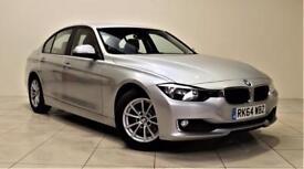 BMW 3 SERIES 2.0 320D EFFICIENTDYNAMICS BUSINESS 4d AUTO 161 BH (silver) 2014