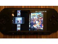 PSP 3000 with 1000's games