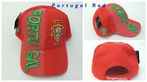 New, FIFA Soccer World Cup Hat Cap, Adjustable One Size Portgual