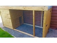 8ft x 4ft Pathway Dog Kennel and Run - Cattery 🐕🐈