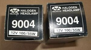 2 NEW #9004 - 100 WATT HI BEAM & 55 WATT LOW BEAM BULBS , $10.00