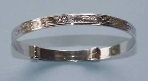 Baby Bangle Vintage Quality English Stirling Silver Adjustable Smithfield Cairns City Preview