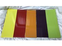 Multi Coloured Ceramic Wall Tile 300mm x 100mm - 3 m2 Total Matt & Gloss