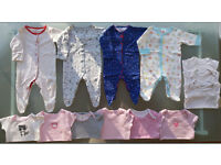 Baby girl clothes bundle for 0 - 3 month