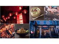 Sous Chef and Line Chefs Bar Soba Glasgow