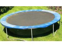 Full size trampoline