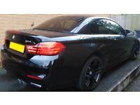 BMW M4 2015 64 Convertible DCT Semi-Auto Black Interior 43k Miles Heads up Harman Kardon Bargain