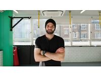 Personal Trainer with facility in central London (boxing, muay