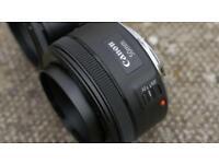 Canon EF 50MM 1.8 STM