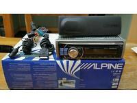 Alpine CDE-104BTi cd/usb/ipod headunit
