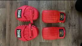 Hook and Jab mitts and pads