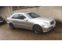 Mercedes C320 Avantgarde. Superb Throughout. Black Leather Heated Seats New MOT Warranty!