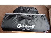 Outwell Wall to Wall Carpet for Bear Lake 6 Tent