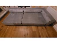 Barker and Stonehouse Grey Cortona Modular Sofa