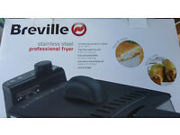 New Breville stainless steel professional fryer