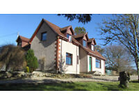 4 Bedroom family home on outskirts of Lairg, with 0.8 acre garden