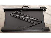 Sony portable projection screen fully collapsible