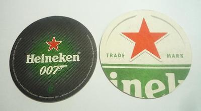 Heineken Beer Mat Coaster Malaysia 2015 James Bond 007 Spectre Movie Rare