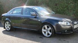 2007 Audi A4 2.0 TDI S Line 4dr FSH 140 BHP