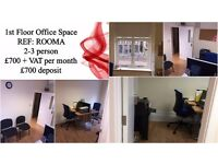 Serviced office space in Stratford