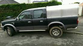 Ford ranger/swap for a 3seater van