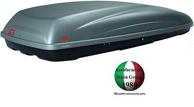 BOX BAULE PORTATUTTO PORTABAGAGLI TETTO AUTO G3 MOD. KRONO 480