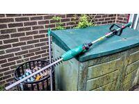 Qualcast CHT18ML1 Cordless Pole Hedge Trimmer - 18V