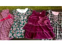 Baby Girl dresses from 3-6 months to 2-3 years old
