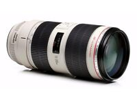 Canon 70-200mm f2.8 Mark ii l lens
