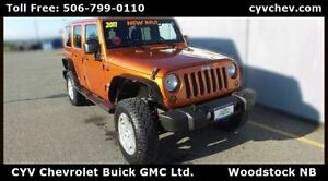 2011 Jeep WRANGLER UNLIMITED Sahara 4 Door Hard Top