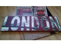 3 London canvases