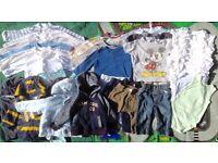 Baby boys bundle 6-9 months, 36 items Next M&S etc. good condition