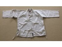 BLITZ white childs student judo suit size 140