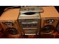 Bush MCD07DAB - CD, DAB/FM/MW Radio, Cassette Player
