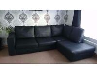 Spare and NEW Right Arm Faux Leather Corner Sofa