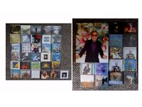 45 Elton John Studio Albums, (3 Autographed) + One Deluxe Box set, mainly all mint, almost every CD