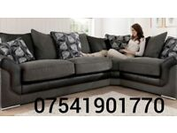 THIS WEEK SPECIAL OFFER BRAND NEW SONIA BUSCAR CORNER SOFA FREE DELIVERY