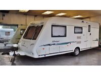 2004/05 COMPASS RALLYE 524, 4 BERTH WITH END BATHROOM, AWNING & MOTOR MOVER + EXTRAS,
