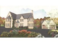 RARE LOCH RYAN LOCH SIDE BUILDING PLOT FOR SALE WITH DPP FOR 4-6 BED HOUSE