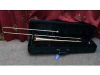 Rosetti Series Trombone For Sale, Good Condition, Case, Mouthpiece, Perfect for Beginner