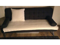 Sofa Bed & Folding Table with 5 Chairs & TV Stand