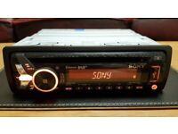 CAR HEAD UNIT SONY N6001BD MP3 CD PLAYER WITH BLUETOOTH DAB RADIO USB AUX AMPLIFIER AMP STEREO BT