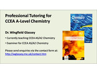 Tutoring for CCEA AS and A2 Chemistry