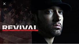 Eminem revival tour tickets standing July 15th Twickenham