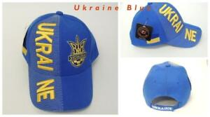 New, FIFA Soccer World Cup Hat Cap, Adjustable One Ukraine
