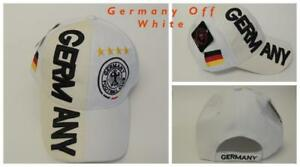 New, FIFA Soccer World Cup Hat Cap, Adjustable One Size Germany