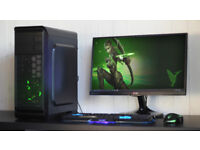 Cheap Fast Gaming PC Dekstop Gamer Computer Pay Monthly